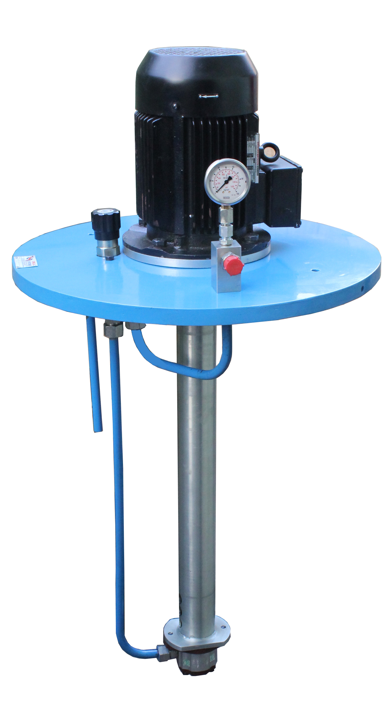Barrel Mounted Motorized Grease Transfer Pump