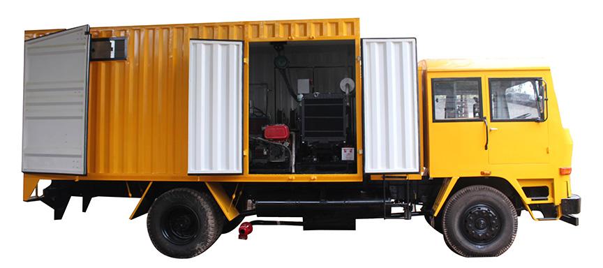Mobile Service Van/Mobile Lube Van