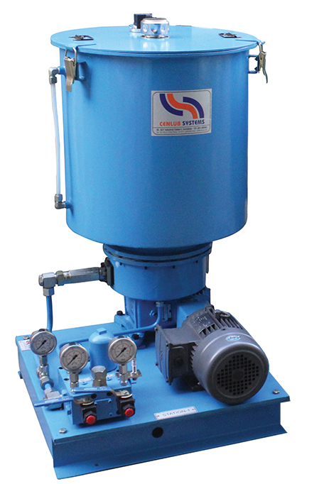 Two (Dual) Line Motorized Pump Oil with Reversing Valve